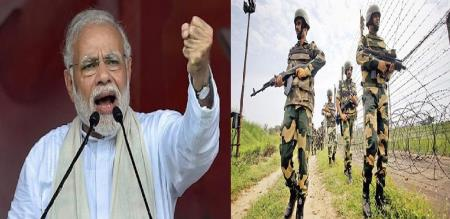 modi says pulwama attack in full power for army