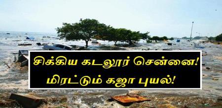 kajaa cyclone in cuddalore