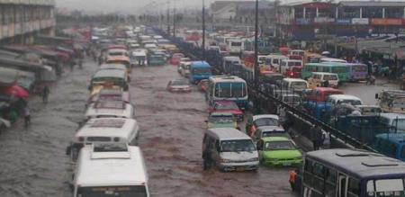 FLOOD ON AFRICA GANA STATE, 44 PEOPLES DEAD