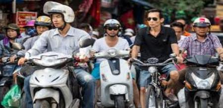 Helmets compulsory
