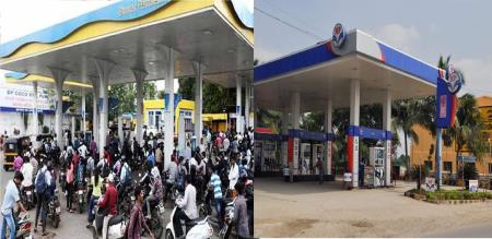 petrol bunk shout down in 15 minutes for pulwana attack