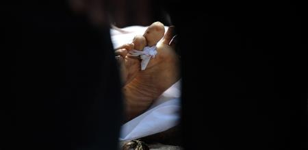 funeral done by parents for living girl