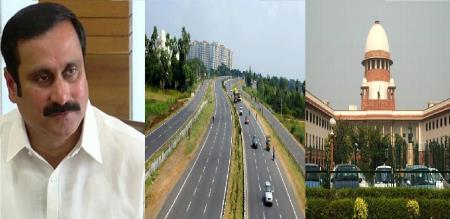 Dr Anbumani appeal to sc for salem to chennai green corridor