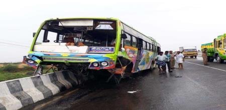 BUS ACCIDENT IN ERODE