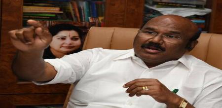 new cyclone in minister jayakumar press meet