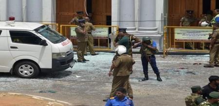 today sri lanka blasts