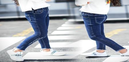 ladies not wearing jeans