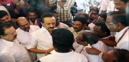 DMK AND DK DRAMA OVER