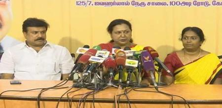 premaladha says about Dmk party