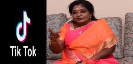 tamilisai say tic tok video
