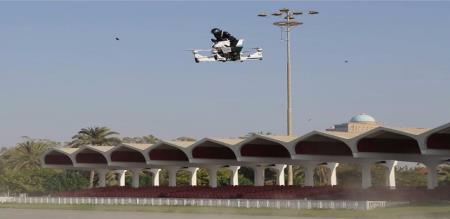Forget luxury cars, Dubai Police all set to soar high with flying bikes