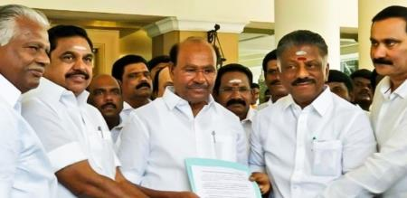 why Admk announced coalition at the date