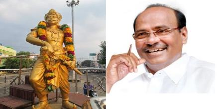 Dr Ramadoss says about mutharaiyar statue