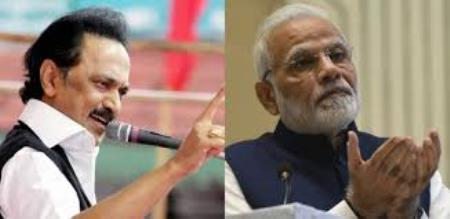 mk stalin vs modi and admk