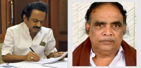 dmk persons attack in-front of  party higher official