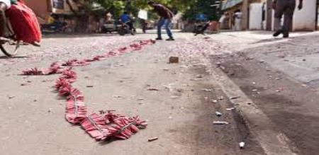 TAMILNADU DEEPAVALI CELEBRATING 6 MENS ARRSESTED