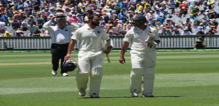 india vs australia boxing day test match day 1