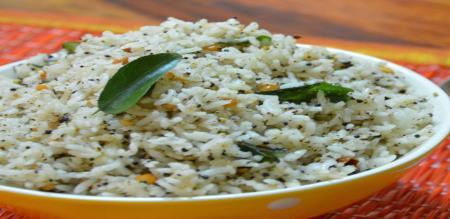 how to prepare pepper rice