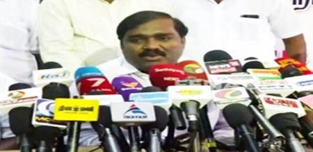 velmurugan says about his coalition