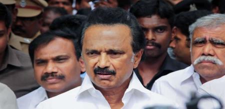 mk stalin speech in Tamilisai Soundararajan