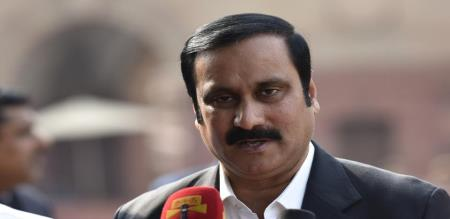 anbumani speaks about chennai salem highway in parliment