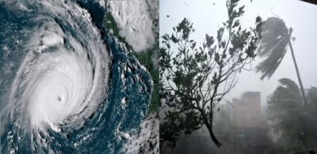 Phethai Cyclone in Weather Research Center