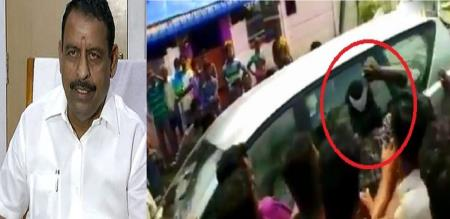 TN MINISTER ATTACK 33 PEOPLE ARREST