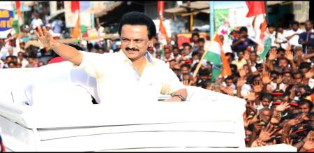 dmk election campaign in hindi
