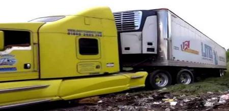 lorry wandering 150 corpses