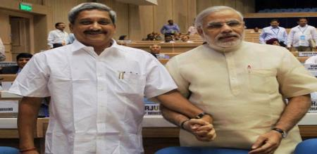goa cm admitted in AIMS