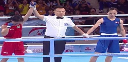 mary kom beats north korea boxer