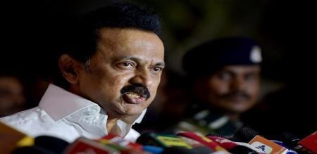 mk stalin angry for karunas arrested
