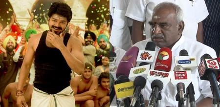 ponnar against mersal movie