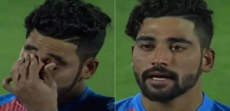 Introductory player muhammed siraj cried debut match