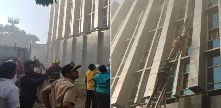 mumbai hospital fire accident