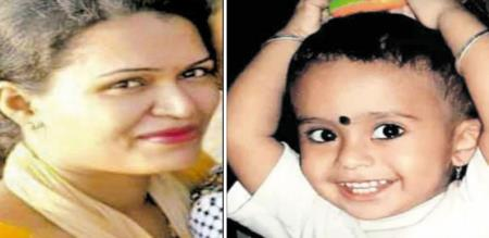 in Mumbai a baby killed by her mother and attempt suicide