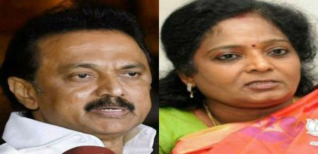 tamilisai says about stalin