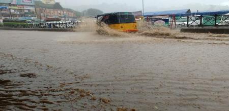 heavy rain in ooty