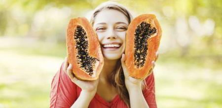 when eat papaya fruit seed with honey will get more good things or your body