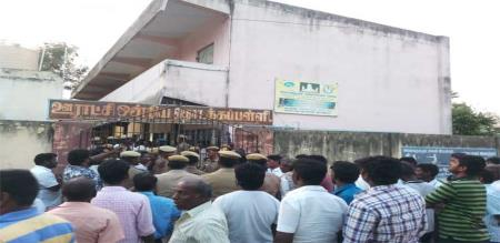 police-firing-in-arcot-in-arakonam-constituency