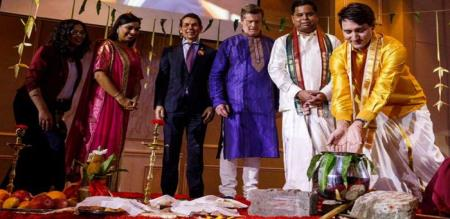 canadian PM who celebrated pongal