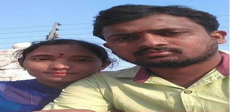 in hyderabad a husband killed her wife and cute baby