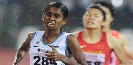 Chithra PU is an Indian track and field athlete from the state of Kerala.