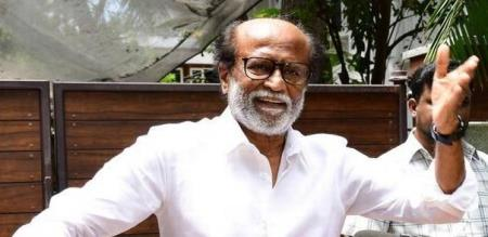 rajinikanth latest press meet about parliament election supporting party and darpar first look