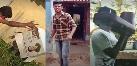 VIJAY FANS COMEDY AND EMOTIONAL REACTION