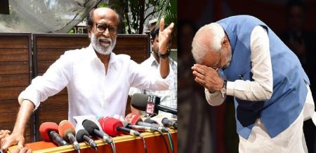 RAJINI AGAINST TALK ABOUT demonetization