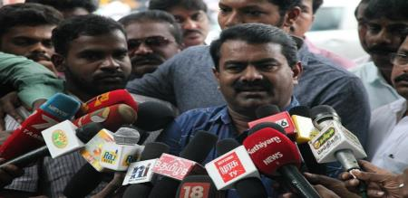 NTK Leader seeman condemns nagai govt bus depot collapse incident
