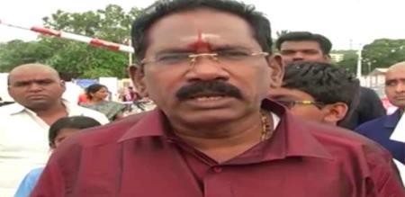 minister Sellur Raju