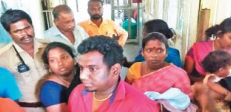 in sengalpet a pregnant lady baby died for doctors irresponsibly