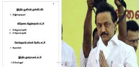 Dmk official page insulted stalin